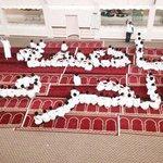 طلاب إحدى المداس يُشكلون في مُصلّى المدرسة لوحةً جميلة دعماً لـ #عاصفة_الحزم (الوطن) #السعودية #KSA - http://t.co/rRZ0OeRlpV