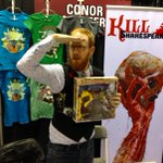 @ConorMcCreery talks all things @KillShakespeare at @Calgaryexpo. Read and listen now: http://t.co/0pmJ7bEqE6 http://t.co/U94goSGWRL
