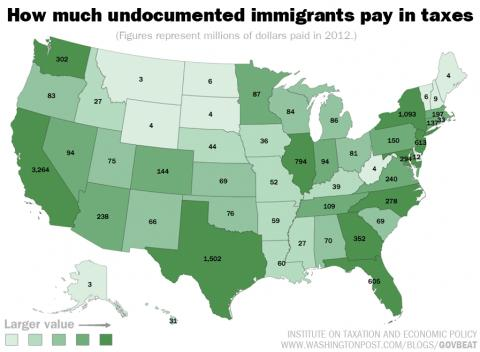 That's right. With a capital B. >> Undocumented Immigrants Pay $11.8B in Taxes. Map: http://t.co/KHSCgqE9Dm http://t.co/nNF7PTppcm