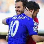 @juanmata8 and Eden Hazard http://t.co/MMB1lVPxB4