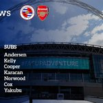 TEAM NEWS: Here is how the Royals will line up for this afternoons FA Cup Semi-Final with @Arsenal http://t.co/F6BV57Qg31