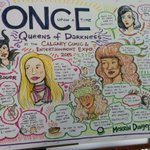 Morning @CalgaryExpo! Heres a snippet from last nights #OUAT panel graphic recording... More pics later today! http://t.co/Qrh7eJw6RB