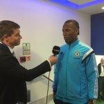 A quick pre-match interview for @didierdrogba... http://t.co/qVEC3gasoZ