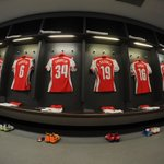 Here is the @Arsenal changing room ahead of #RFCvAFC. Find out which of these players will start in five minutes... http://t.co/mo7Pw6d5FC
