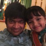 Met this little angel on sets ...and she wanted a selfie with me ...  Realising this generation's speed :-)