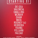 Man Utd XI against Chelsea. #MUFC http://t.co/LHDW1SJxvH
