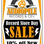 11AM start! @Audiopile_s RECORD STORE DAY SALE - 10% off NEW 20% off USED - #Vancouver til 7PM @ 2016 Commercial Dr http://t.co/lGkMKbrWih