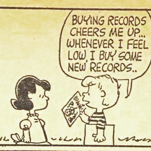 What vinyl(s) cheer you up? @recordstoreday #RecordStoreDay #CharlieBrown http://t.co/NNp4BjJxUL