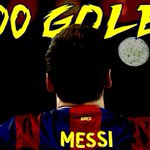 Lionel Messi scores his 400th career goal with Barcelona as they beat Valencia, 2-0. http://t.co/320OG7d8Lf