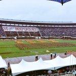 Zimbabwe @ 35years... scenes from the Uhuru Celebrations at National Sports Stadium, #ProudlyZimbabwean http://t.co/0C4Eoxv8V9