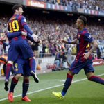 Lionel Messi game by numbers vs. Valencia: 1 goal 1 assist 92% pass accuracy 4 take-ons http://t.co/nZrqSVdwbQ