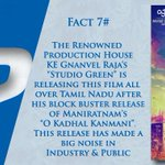 RT @onlynikil: Did You Know Facts! #VaiRajaVai Fact #7  @ash_r_dhanush @archanakalpathi