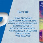 RT @onlynikil: Did You Know Facts! #VaiRajaVai Fact #8  @ash_r_dhanush @archanakalpathi