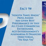 RT @onlynikil: Did You Know Facts! #VaiRajaVai Fact #9  @ash_r_dhanush @archanakalpathi