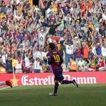 #Messi400: argentino marca no fim e faz história em vitória do líder Barça  http://t.co/qupup6sQnK http://t.co/EvFUc4rMfM