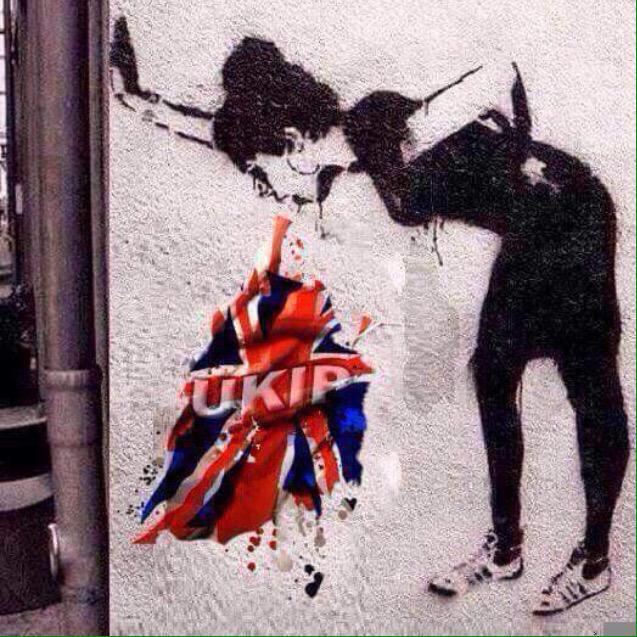 Banksy, you scamp. http://t.co/idW4ovMCve