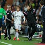 Luka Modric sufre un esguince de rodilla y podría perderse el resto de temporada http://t.co/dZr04VIDzF http://t.co/9pfHyUZHC1