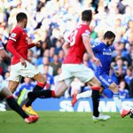 Eden Hazards 13th #BPL goal of the season is still the difference after 53 mins. How will Man Utd respond? #CHEMUN http://t.co/pnhzOBHLcU