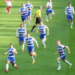 All ten outfield players celebrating @gmccleary12s equaliser #WembleyRoyals http://t.co/07UykkQRmR