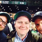 Great time at the ol ballpark last night watching our @Mariners lose another one! With @andrew_walsh @lukeburbank http://t.co/hNshd0bZRq