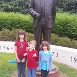 Bryant meets Bryant (and his sisters) #BuiltByBama #ADay2015 http://t.co/5ep2ebG4M0
