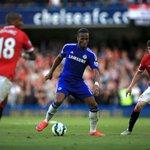 60 mins played at Stamford Bridge. Chelsea 1-0 Man Utd. #CFCLive #CFCvMUFC http://t.co/Y3EG5cesz5