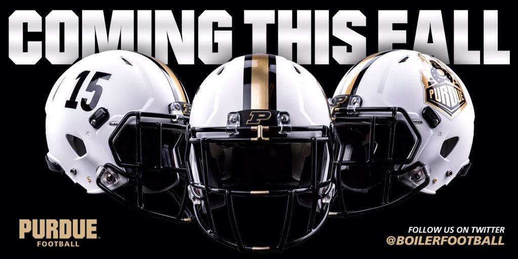 Our new alternate white helmet was just unveiled to everyone at the Spring Game! #BoilerUp http://t.co/JNgn2VxGY1