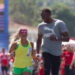 "Bolt ""vira guia"" e corre com Terezinha Guilhermina no Rio: ""Estava nervoso""  http://t.co/8joUjLIs8Q http://t.co/STJwNDq5Yz"