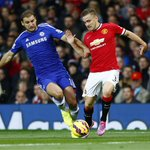 Luke Shaws game by numbers vs. Chelsea: 98% pass accuracy 3 chances created 2 shots http://t.co/4XshGoIveV