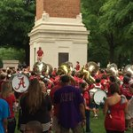 Strike up the band, its #ADay in #Tuscaloosa! #RollTide! http://t.co/EYC6zfZm13