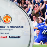 FT: @ChelseaFC 1-0 @ManUtd. Hazards first half goal secures the win for the league leaders - http://t.co/FiVp70wOgT http://t.co/udVPtBejfo