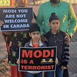 Sikh socity protest and was against modi visit to Canada. @DrunkVinodMehta @truesoul18 http://t.co/WVNsEYD1lM