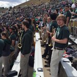 Halftime here at the Green & Gold Spring Game. Green team leads 24-20 in front of a solid #CSURams crowd http://t.co/DF81cYRnDs