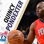 .@QuincyPondexter and the Pelicans begin #NBAPlayoffs action soon. Good luck, Quincy! #ProDawgs #HuskyFamily http://t.co/QaEEVFnbDs