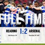 A magnificent effort from the Royals but Premier League @Arsenal edge this Semi-Final after 120 minutes at Wembley http://t.co/x9SdLDjd5v