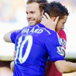Juan Mata embraced every Chelsea player after the defeat at Stamford Bridge. A touch of class. http://t.co/AFBd68c7di