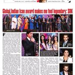 Global Icon Award Makes me feel legendary: SRK @TimesNow http://t.co/DkAxdQ5sdB