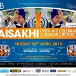 #Birmingham Vaisakhi Celebration Handsworth Park 26 Apr 2015 11am-6.30pm. Join Europes largest open-air celebrations http://t.co/tnigaY55eC