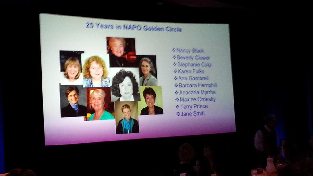 Congrats to these ladies in the organizing & #productivity industry for THIRTY years! #NAPO2015 http://t.co/WEKGNYBPeO
