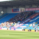 538 Plymouth Argyle fans took the longest away trip in the UK, an 800 mile round trip, to Carlisle today. Commitment. http://t.co/zcotwIFkHo