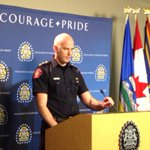 Getting an update from Duty Inspector Joel Matthews on the body found on Macleod Trail #yyc http://t.co/2CHfVt3zLy