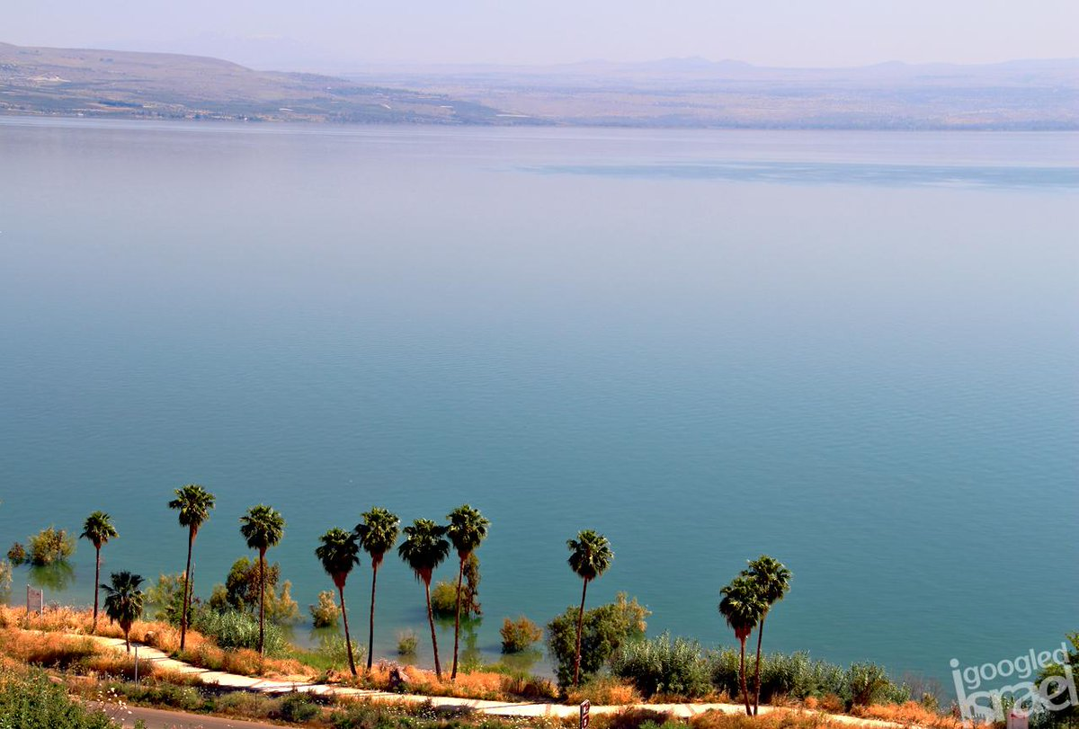 The calm, mid-morning beauty of the Sea of Galilee... http://t.co/3hgaWtO8A7