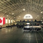 Stunning moments inside the John W. Foote VC Armoury during todays Trooping of the Colours ceremony. #HamOnt http://t.co/jsIqY0PQhA