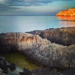 #portinatx #ibiza #lighhouse #sea #sunset by curro_candela http://t.co/CrxYN3XUeM http://t.co/jO4rc4A2ld