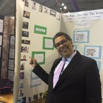 Mayor @nenshi found himself as part of a project at @ScienceFairCYSF today! http://t.co/iawuvMHwG3