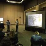 Checking out @cookry and @mobileplanner of @pbworld discuss integrating tech into #urbanplanning projects at #APA15 http://t.co/8a3EMT8L2Y
