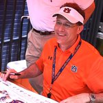A-Day | @CoachGusMalzahn meeting with the #AuburnFamily post scrimmage. #WarEagle http://t.co/0ASI1OFUu6