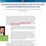 Acredito que todas essas denúncias são invenção da imprensa contra os delegados da PF... AH COITADOS! http://t.co/jEK2jsVnOA