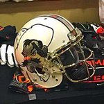 @TheOkiePokie new helmet for next year? #GoPokes #okstate http://t.co/TxlAqap0ve