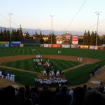 Another gorgeous night in Rancho Cucamonga for the greatest game on Earth. #Quakes vs #Storm is up next! http://t.co/JGwj9B2e0M